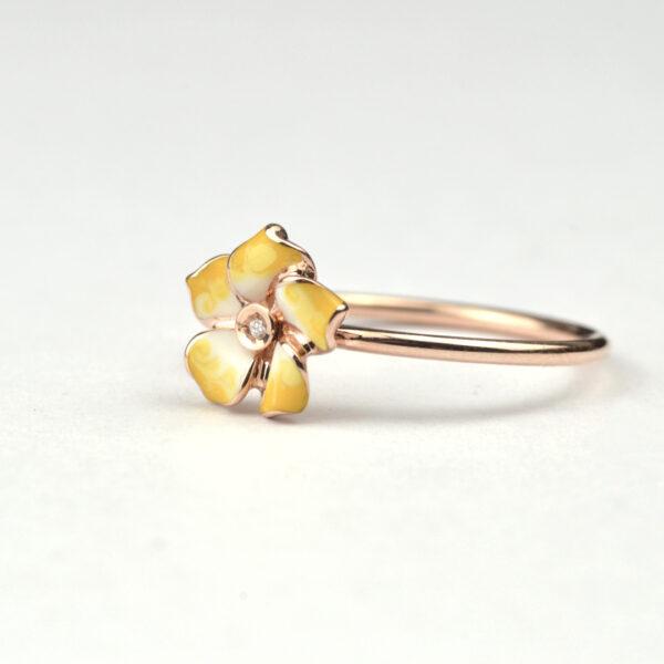 anello-petite-fleur-giallo