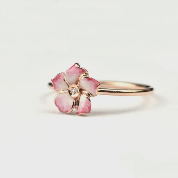 anello-petite-fleur-rosa