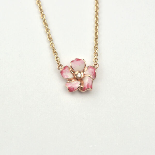collana-petite-fleur-rosa